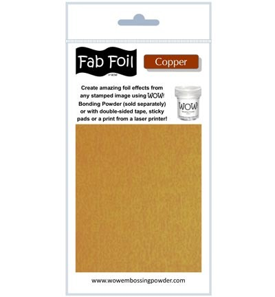 WOW Fabulous Foil - Bright Copper
