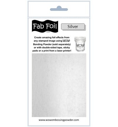 WOW Fabulous Foil - Bright Silver