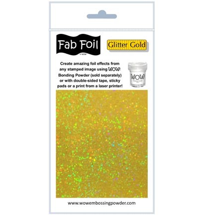 WOW Fabulous Foil - Glitter Gold