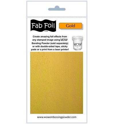 WOW Fabulous Foil - Bright Gold