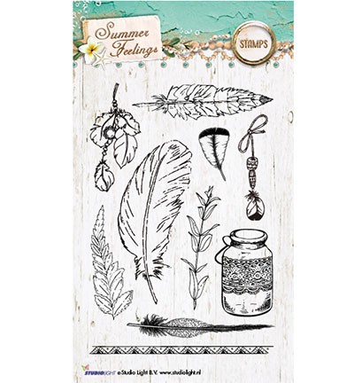 Clearstamp Studio Light - Stamp Basics Summer Feelings nr. 189