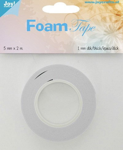 Joy! Crafts - Foam tape 5mm breed - 1mm