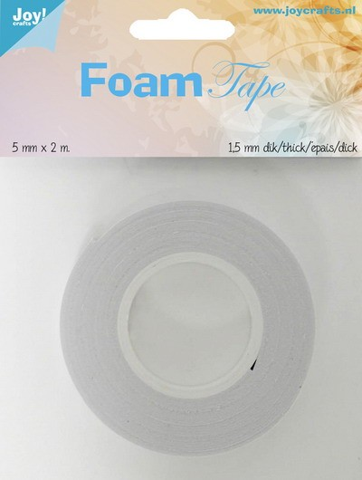 Joy! Crafts - Foam tape 5mm breed - 1,5mm