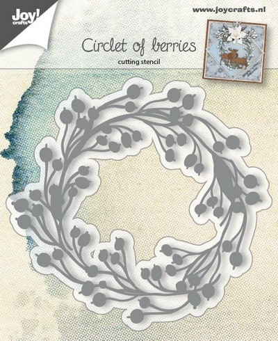 Joy! Crafts - Cutting & Embossing - Circles of Berries