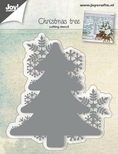 Joy! Crafts - Cutting & Embossing - Christmas Tree