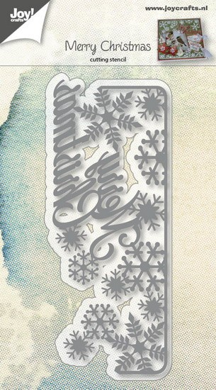 Joy! Crafts - Cutting & Embossing - Text Merry Christmas