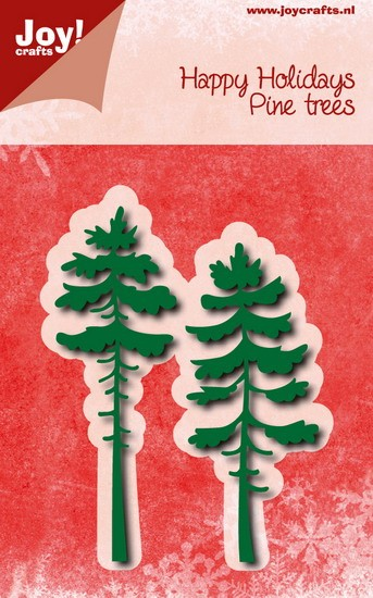 Noor! Design - Happy Holidays - Pine Trees