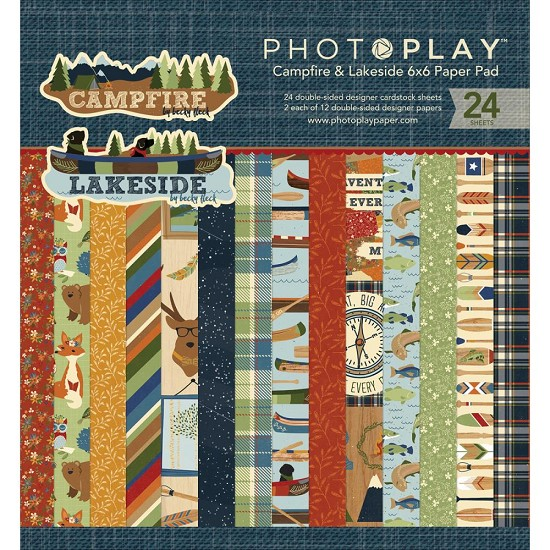 Paperpad - Photoplay - Campfire / Lakeside