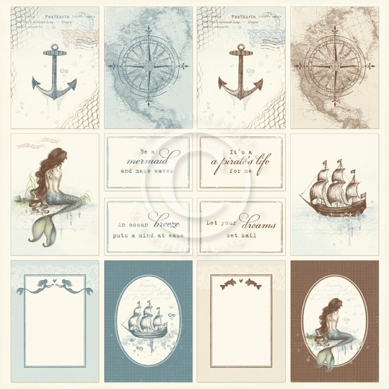 Scrappapier Pion Design - Legends of the Sea - Images of the Past