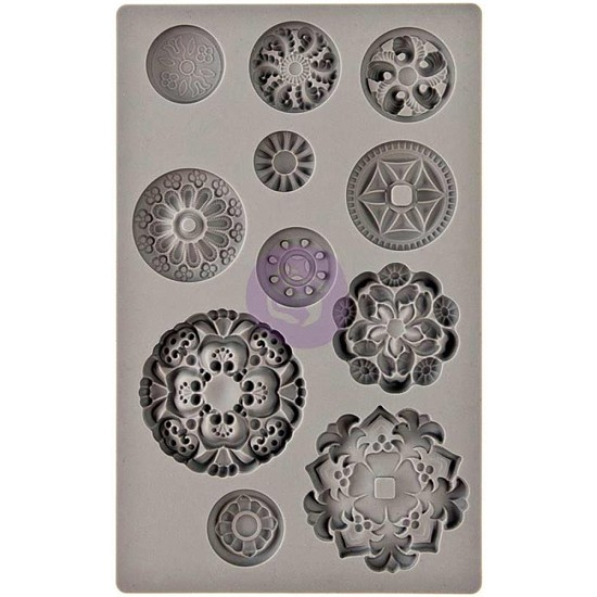 Prima Marketing - Vintage Art Decor Moulds - Medaillons