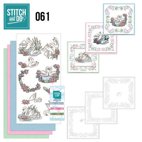 Stitch and Do 61 - Swans