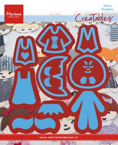 Marianne Design - Creatables - Kim`s Buddies set