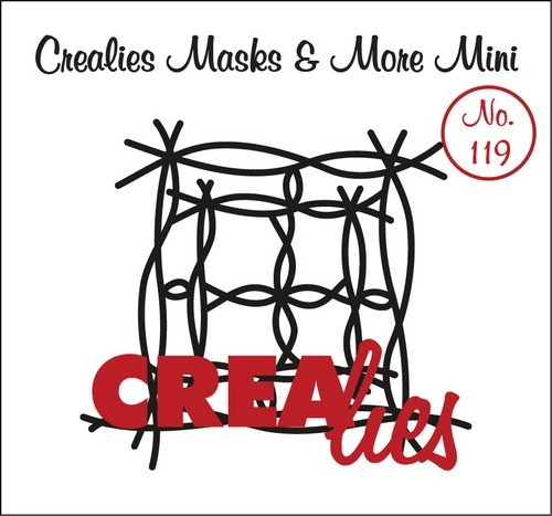 Crealies - Mini Mask & More - No 119 Twijg