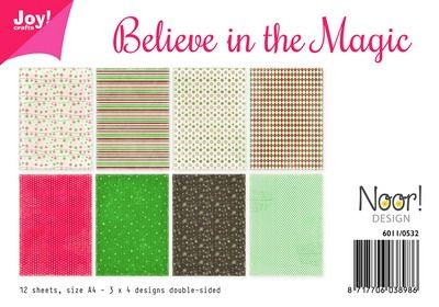 Noor! Design - Paperpad A4 - Believe in the Magic