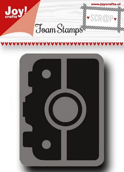 Noor! Design - Scr@p! - Foam stamps - Camera