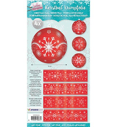 Studio Light - Christmas Sleeves - Sparkling Christmas nr 04