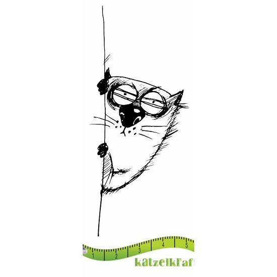 Rubberstamp - Katzelkraft - Tampon Les gros chats 9
