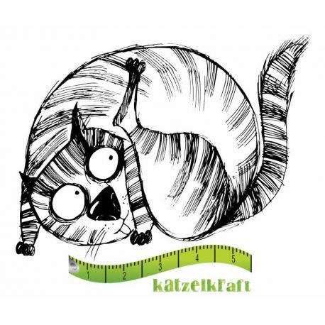 Rubberstamp - Katzelkraft - Tampon Les gros chats 5