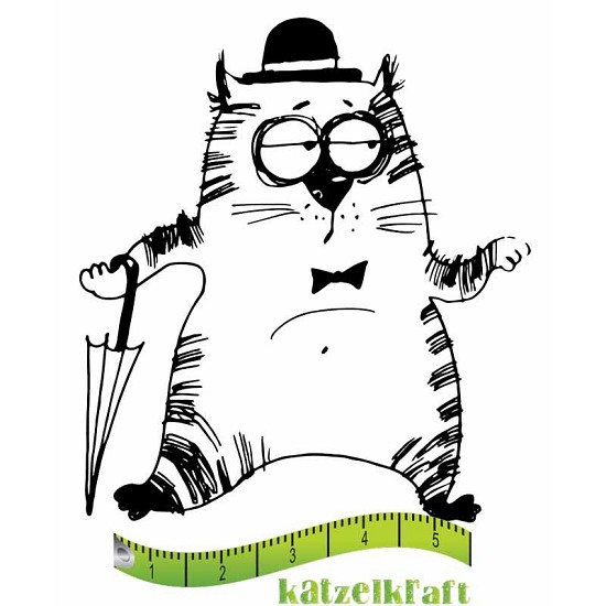 Rubberstamp - Katzelkraft - Tampon Les gros chats 3