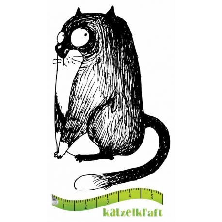 Rubberstamp - Katzelkraft - Tampon Les gros chats 2