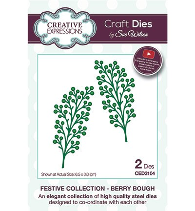 Stansmal Creative Expressions - The Festive Collection - Berry Bough