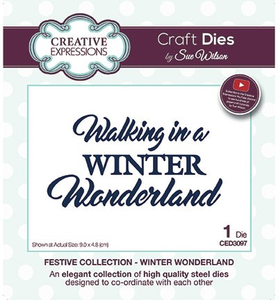 Stansmal Creative Expressions - The Festive Collection - Winter Wonderland