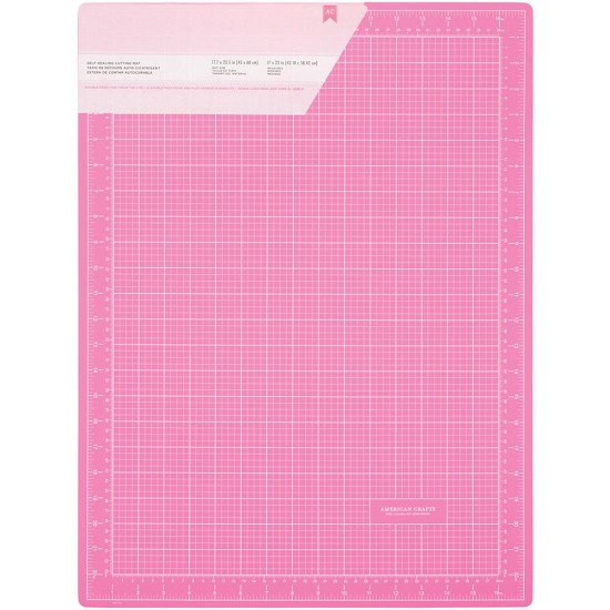 "Cutting Mat - Pink - Double-Sided Self-Healing - 18"" x 24"""