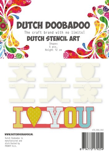 Dutch Doobadoo - Dutch Stencil Art - Shapes
