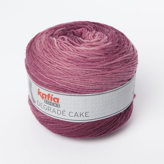Katia - Degrade Cake Socks - Kleur 81