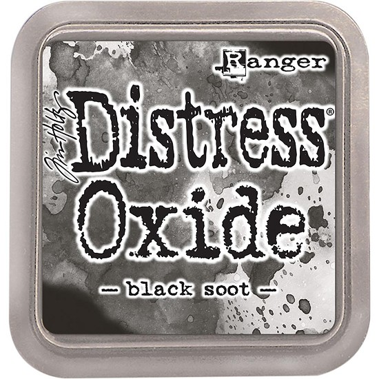 Distress Oxides Ink Pad - Black Soot