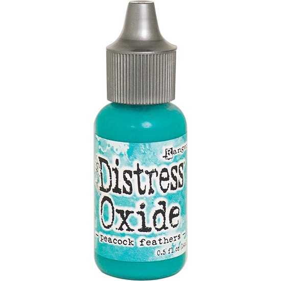 Distress Oxides Ink Refills - Peacock Feathers