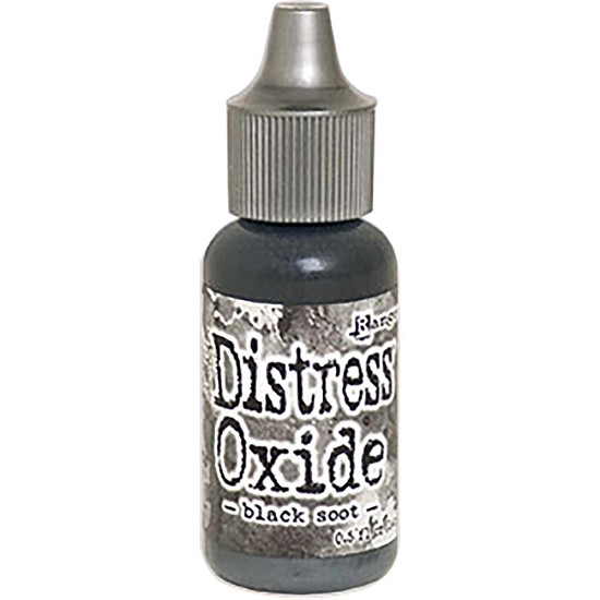 Distress Oxides Ink Refills - Black Soot