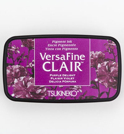 Stempelinkt Versafine - Clair Ink Pad - Purple Delight