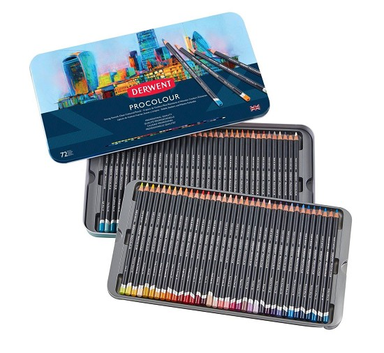 Derwent - Procolour Pencils - 72 tin