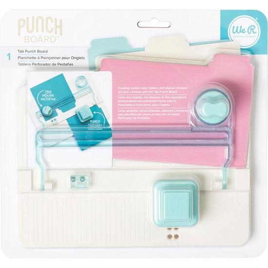 We R Memory Keepers - Tab Punch Board