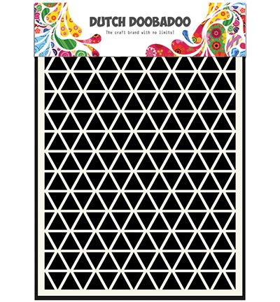 Dutch Doobadoo - Dutch Mask Art - A5 Triangle