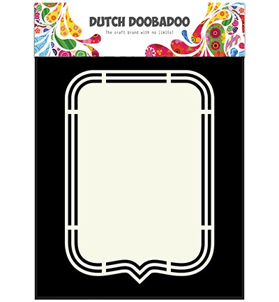 Dutch Doobadoo - Dutch Shape Art - Tag