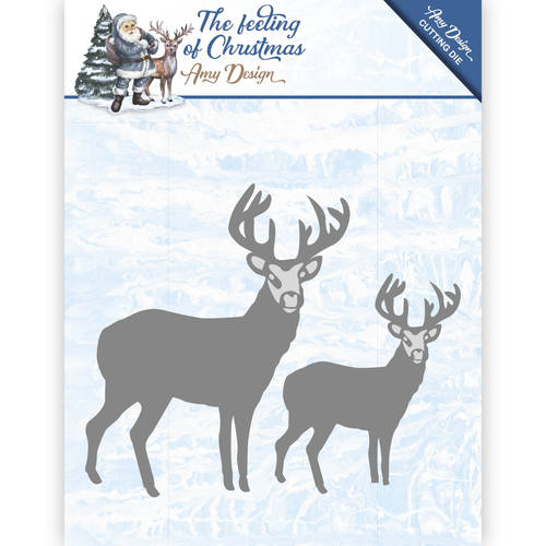 Stansmal Amy Design - The feeling of Christmas - Christmas reindeers