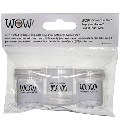 WOW! - Empty Jars - Pack of 3