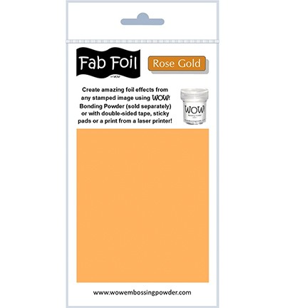 WOW Fabulous Foil - Rose Gold