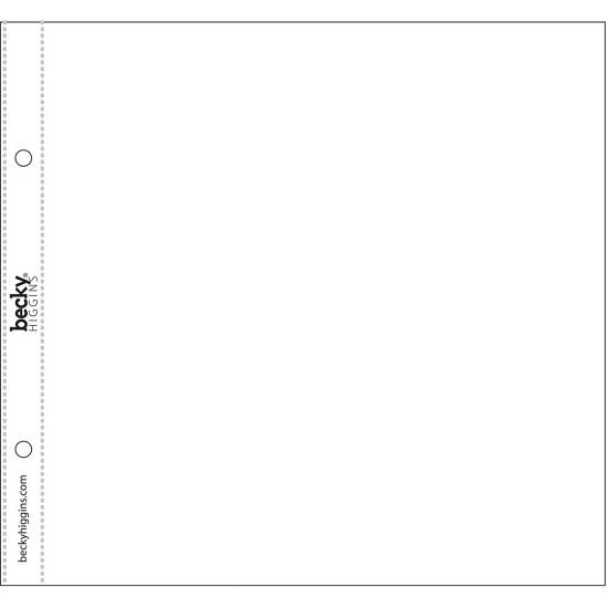 "Project Life - Page Protectors - 8""X8 - 10/Pkg"