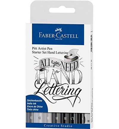 Faber Castell - PITT Artist Handlettering - Handlettering All You Need