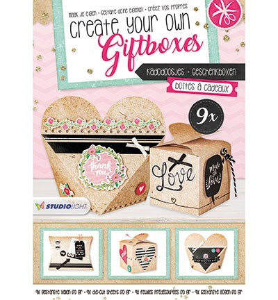 Studio Light - Stansblok Create your own giftboxes - nummer 1