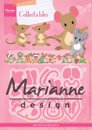 Marianne Design - Collectable - Eline`s Mice Family
