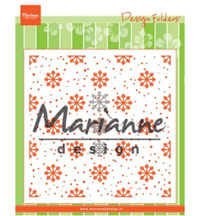 Marianne Design - Design Folder + Die - Snow & Ice Crystals