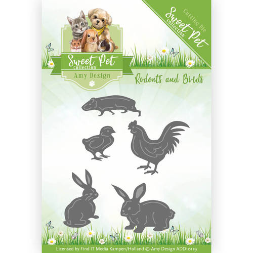 Stansmal - Amy Design - Sweet Pet - Rodents and Birds