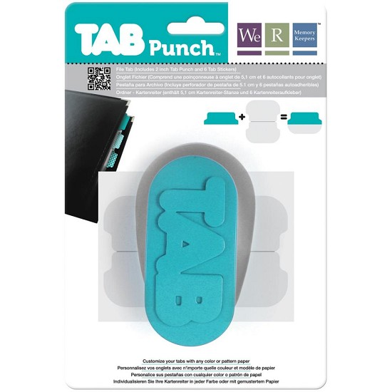We R Memory Keepers - Tab Punch