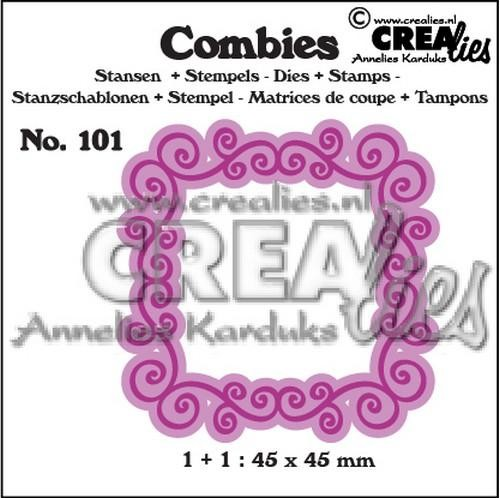 Stansmal - Crealies - Combies - Nr 101 Kader A