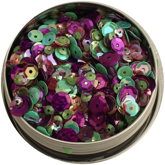 28 Lilac Lane - Tin with Sequins 40g - Violet Blossom