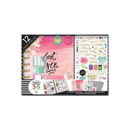 Me & My Big Ideas - Create 365 Happy Planner Box KIT - Best Year